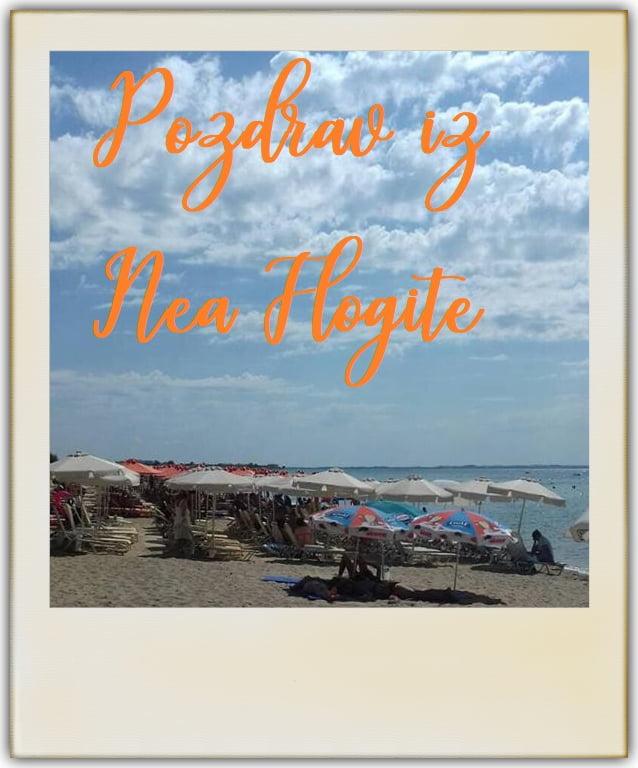 Nea Flogita - plaža